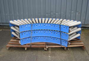 Curved Corner Roller Conveyor - 2.3m long