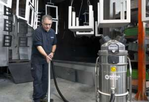 Nilfisk Compressed air / Pneumatic VHC120 Z1 EXA Vacuum Atex approved