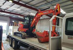 Kubota 5.5t Excavators for Hire