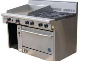 Goldstein PF24G428 - 4 Gas Burner + Griddle With Oven