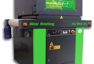 Affordable Deburring and Surface Finishing machine for laser or profile cut parts