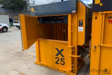 Bramidan X25 Vertical Baler | 25 Tonne Press Force | Great for Cardboard & Plastic