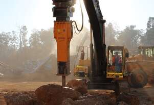 HIRE ROCKBREAKERS TO SUIT 1.5 TO 80 TON