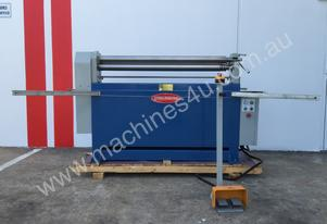 Powered 1300mm x 1.6mm Pinch Rollers Swing Out End