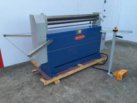 Powered 1300mm x 1.6mm Pinch Rollers Swing Out End - picture4' - Click to enlarge