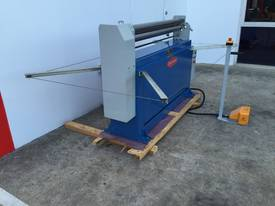 Powered 1300mm x 1.6mm Pinch Rollers Swing Out End - picture11' - Click to enlarge