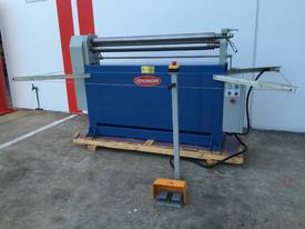 Powered 1300mm x 1.6mm Pinch Rollers Swing Out End - picture16' - Click to enlarge