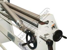 RS1270x90 Manual Sheet Metal Curving Rolls 1270  x 2.5mm Mild Steel Capacity - picture6' - Click to enlarge