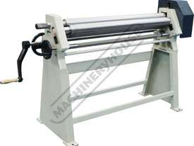 RS1270x90 Manual Sheet Metal Curving Rolls 1270  x 2.5mm Mild Steel Capacity - picture4' - Click to enlarge
