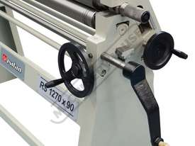 RS1270x90 Manual Sheet Metal Curving Rolls 1270  x 2.5mm Mild Steel Capacity - picture5' - Click to enlarge