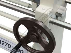 RS1270x90 Manual Sheet Metal Curving Rolls 1270  x 2.5mm Mild Steel Capacity - picture10' - Click to enlarge