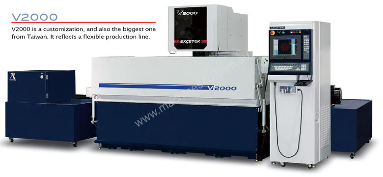 New Excetek V350 CNC Wire EDM in Osborne Park, WA Price: $87,500