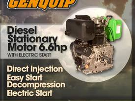 Genquip Diesel Engine - 6.6Hp Electric Start