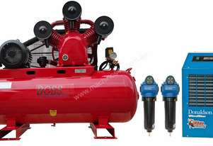 BOSS 52CFM/ 10HP Compressor Clean Air Package