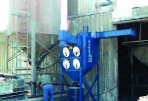 Donaldson Downflo Oval (DFO) Dust Collector