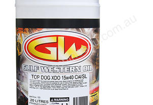 OIL 15W40 DIESEL 20LTR XDO TOP DOG