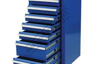 ISC-7D Industrial Series Side Cabinet 7 Drawers 430 x 460 x 845mm