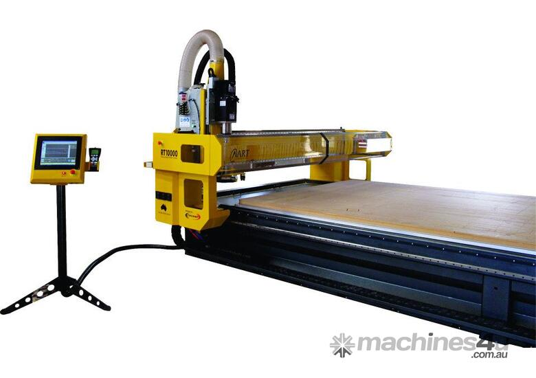 RT CNC Router Heavy Duty  Aluminium & Composite Cutting