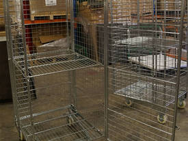 Budget Stock Trolley Full Cage Roof and Door - picture2' - Click to enlarge