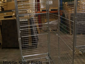 Budget Stock Trolley Full Cage Roof and Door - picture3' - Click to enlarge