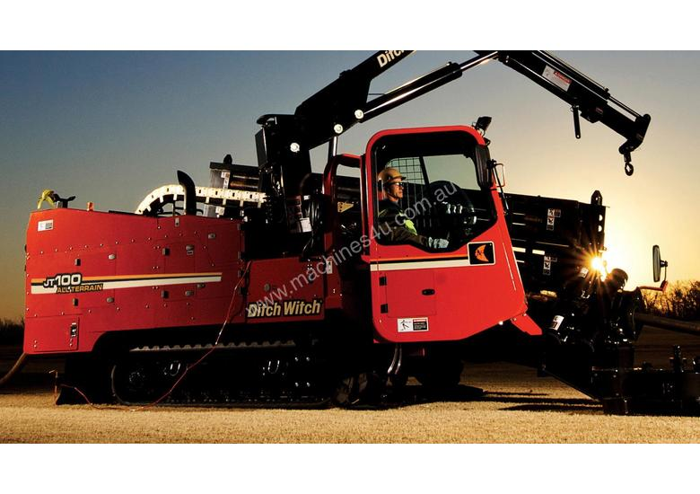 Ditch Witch AT100, 100k lbs rock drill