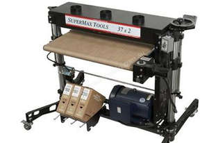 Supermax 37x2 Double Drum Sander