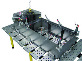 BuildPro Welding Tables 2m x 1m - picture2' - Click to enlarge