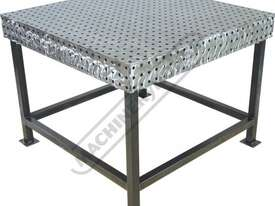 FBL120120-M CertiFlat fabBLOCK 3D Welding Table with Legs 1200 x 1200 x 860mm (LxWxH) Tab & Slot U-W - picture0' - Click to enlarge