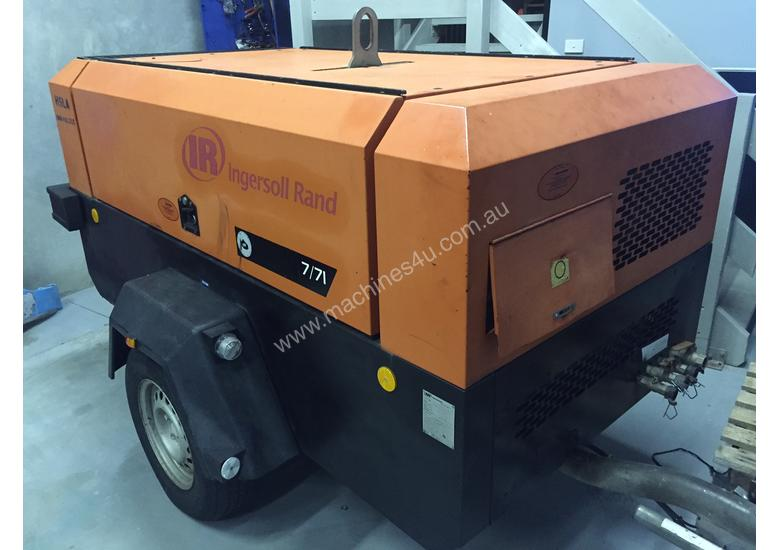 Ingersoll Rand 260 cfm air compressor for Hire