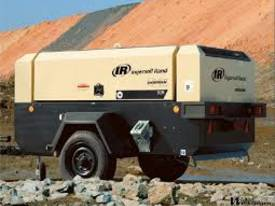 Ingersoll Rand 260 cfm air compressor for Hire  - picture1' - Click to enlarge