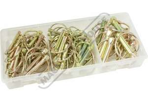 K74122 Lynch Pin Assortment 50 Piece