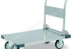 Stainless Steel Flatbed Trolley 500Kg Capacity