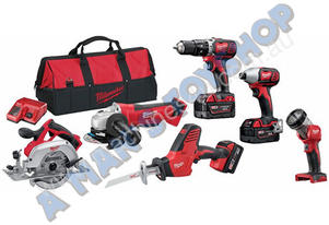 IMPACT DRIVER DRILL GRINDER SAW 6PCE 3.0