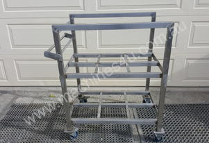 Tba STAINLESS STEEL TROLLEY