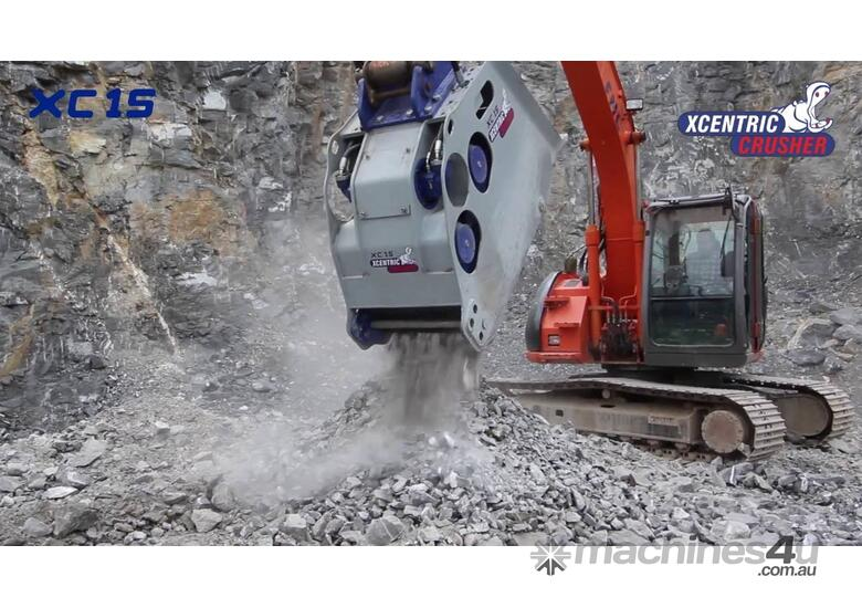 XCENTRIC XC15 12T+ CRUSHER BUCKETS RENT-TRY-BUY TODAY!