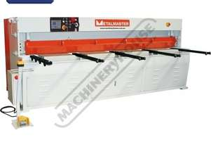 HG-860B Hydraulic NC Guillotine 2500 x 6mm Mild Steel Shearing Capacity 1-Axis Ezy-Set NC-89 Go-To C