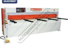 HG-860B Hydraulic NC Guillotine 2500 x 6mm Mild Steel Shearing Capacity 1-Axis Ezy-Set NC-89 Control - picture0' - Click to enlarge