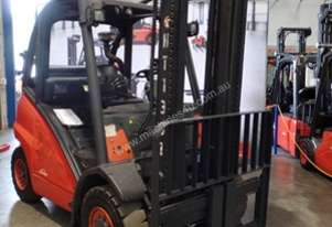 Used Forklift: H40T - Genuine Preowned Linde
