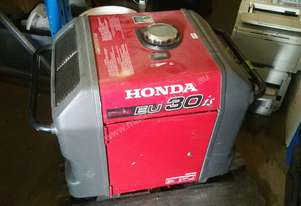 Used Honda Generator EU30is Silenced