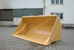 Roo Attachments Hi Dump wheel loader buckets