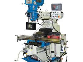 BM-62VE Turret Milling Machine (X) 865mm (Y) 420mm (Z) 400mm Includes Digital Readout, Vice & Clamp  - picture0' - Click to enlarge