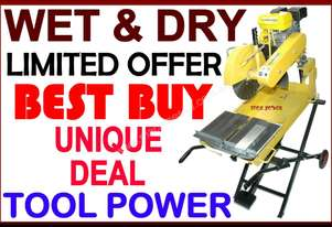 Brick Saw TOOL POWER wet & dry belt drive unit 6.5
