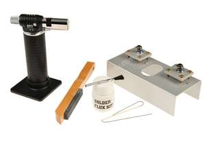 Carbatec Blade Brazing Kit