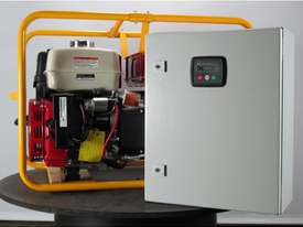 Powerlite Honda 8kVA Three Phase Auto Start Generator - picture0' - Click to enlarge