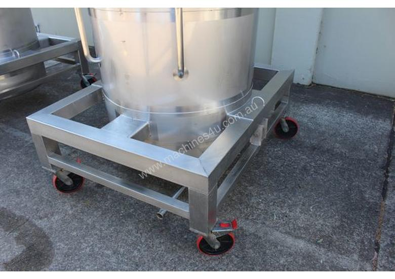 Stainless Steel Tapered Tank