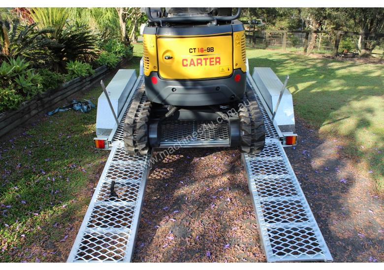 Carter CT16 Excavator with Trailer Included