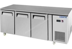 F.E.D. GTF3100B GRAND True Quality Three Door Gastronorm Work Bench Freezer