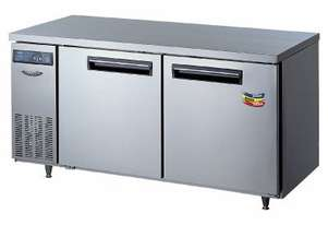 Lassele LTF-1271PC Two Solid Door Under Bench Freezer - 1200mm