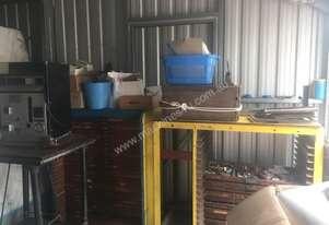 Various rubber stamp making equipment