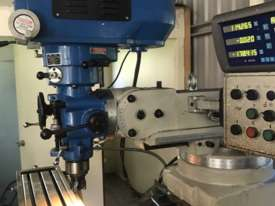 Turret milling machine  - picture0' - Click to enlarge